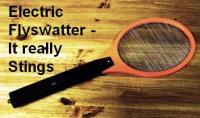 Electric flyswatter